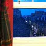 View from our window of Thistle Street