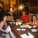 Dinner at Casasandra hotel