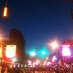 Evening at Beale street