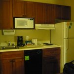 Kitchenette area - well stocked