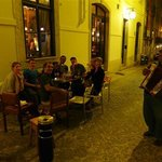 welcome to Lisbon evening with guests