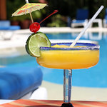 Try our mango margaritas!!