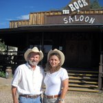 The Rock Saloon--great place for music, food and lots of laughs