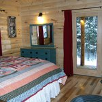 Bedroom in Loon Lodge