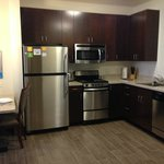 Full Kitchen in our 1 and 2 BR rooms!