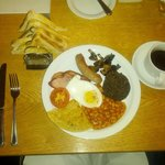 The Full Scottish Breakfast! Yum!