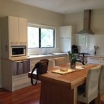 Great size kitchen and dining