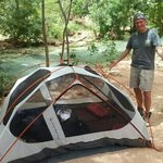 Camping at the river .. amazing !!!