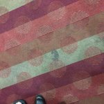 Soiled carpet in the elevator