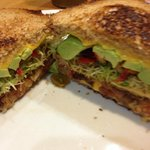 Grilled Vegetarian sandwich