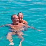 Swimming in the magic waters of Corfu