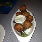 Conch and shrimp fritters!!!!! AMAZING!