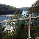 View from Room 8 across the River Fowey