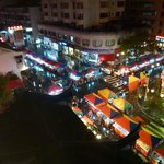 Night market (view from the room)