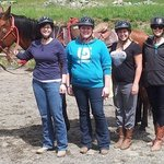 Team from Tourism Sun Peaks - Ranch Visit May 2013