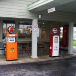 the old petrol pumps