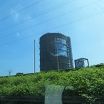 Gasometer: view from the highway
