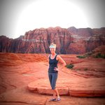 Yoga in Snow Canyon