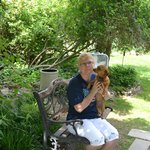 Mrs. Quigley's Granddaughter and Granddog