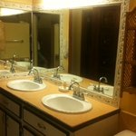 Double sinks in many rooms!