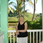 My Aunt outside her room