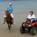 Horseback Riding and ATV Tour