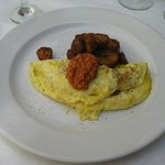 Omelet Special w/duck fat roasted potatoes