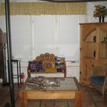 Southwest decorations/furniture in Artist Studio