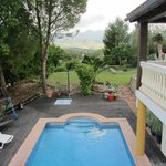 lovely pool and garden