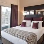 Master Bedroom - One Bedroom Apartment on the Executive Floor at Fraser Suites Glasgow