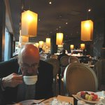 Breakfast in the Olissippo Oriente Hotel