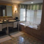 Large bathroom in superior bungalow suite 6A