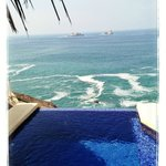 View from Private Plungepool - Penthouse 71
