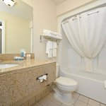 Spacious Guest Bathrooms