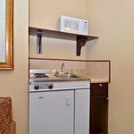 Kitchenette in King Suite