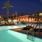 Kasbah Pool at Night