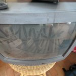 Dusty old TV