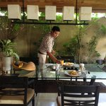 Astawa, Preparing Breakfast...In Villa