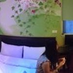 panoramic view of our room