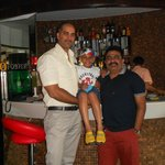 With Mr.Satish Kumar (F&B Manager)......
