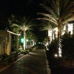 After dinner, take a walk around the marina