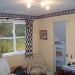 Our bright and cosy room at Craigiewood