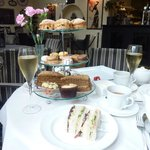 Afternoon Tea at Le Bouchon.