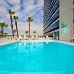 Swimming Pool at the Holiday Inn Torrance