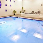 Enjoy Our Indoor Pool and Hot Tub Any Time of Year