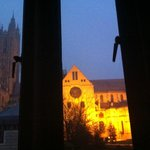 View of Canterbury Cathedral from room