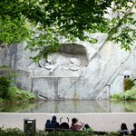 Lion Monument from a distance