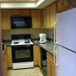 Remodeled kitchens were very nice with new appliances.