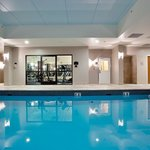 Our indoor heated pool is just what you need to relax.