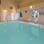 Indoor Heated Pool Located Adjacent To Hotel